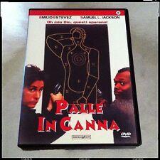 PALLE IN CANNA Emilio Estevez Samuel L.Jackson RARO DVD Originale Fuori Catalogo