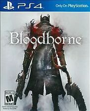 Bloodborne NEW factory sealed Sony PlayStation 4 PS4 Blood Borne