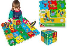 Verdes SESAME STREET 27-Piece Alphabet Foam Floor Puzzle Mat A-Z, Ages 2 - 5