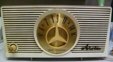 Rare VINTAGE  ARVIN Twin Speaker AM TUBE RADIO   Free Ship  Does Not Work
