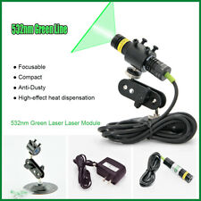 532nm 100mW Industrial Green Laser Line Module for Stone/Wood Cut Locating