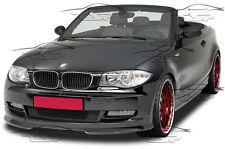 FRONT LIP SPOILER FRONT BUMPER SPLITTER FOR BMW E82 E88 SERIES 1 07-11 FA163