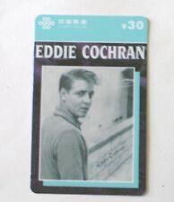 EDDIE COCHRAN 9 Chinese Phone Cards