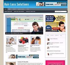 HAIR LOSS WEBSITE FOR SALE - UK AFFILIATE STORE FULLY STOCKED + FREE DOMAIN