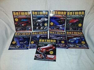 9 Batman Automobilia Magazines Batmobile