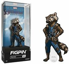 FiGPiN - Avengers Endgame: Rocket - Collectible Pin with Premium Display Case