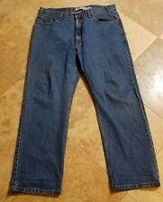 Levis Strauss 38x30 Medium Wash Regular Fit Jeans Blue Pants