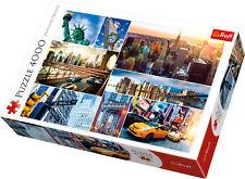 Puzzle New York - 4000 Teile - Legespiel Amerika, Collage (437-55)