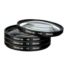 Macro Close up Lenses Lens Filters for Canon EOS 200D 100D 1300D 750D 700D 18-55