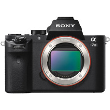 Sony Alpha A7 II Full Frame Noir Appareil Photo Numérique Corps ILCE - 7 m²: remis à neuf