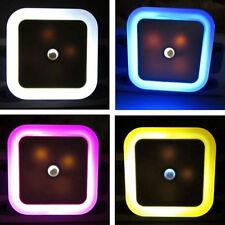 Veilleuse Capteur LED Chambre Chevet Lampe Nuit Lumière Mural Applique EU/US