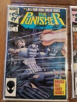 The Punisher limited series 1-5 Michael Zeck