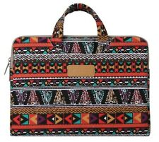 MOSISO Laptop Sleeve Bohemian Style Canvas Fabric Case Bag Cover 12 inch macbook