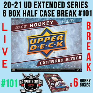 St. Louis Blues - 20-21 UD EXTENDED SERIES HOCKEY 6 BOX HALF CASE BREAK #101