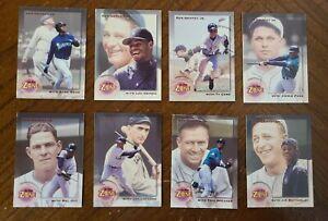 1995 Megacards Ken Griffey Jr. IN THE ZONE Baseball Set  (SET 1-8) EX-NM