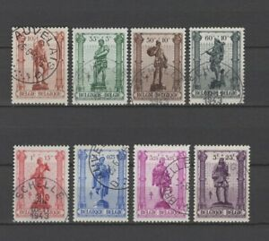 BELGIUM 1943 crafts fine used 615/22