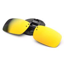 Conducción Pesca Con Clip espejo UV400 Gafas De Sol Lente Al Aire Libre