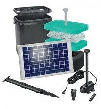 20W Solarpumpe Filter Solar Tauchpumpe Teichpumpe Gartenteichpumpe Filteranlage