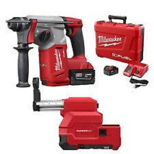 Milwaukee 2712-22DE M18 FUEL 1in. SDS+ Rotary Hammer & Dust Extractor Kit