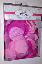 300 Amscan Rosenblätter Blütenblätter Hochzeit Feier pink rosa Geschenk-Box