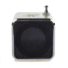 Td-V26 Portable Mini Digital Speaker with Micro Sd / Tf / Usb /Fm Green N5R6