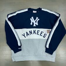 New York Yankees Mitchell & Ness MLB Men's Leading Scorer Crew Sweatshirt