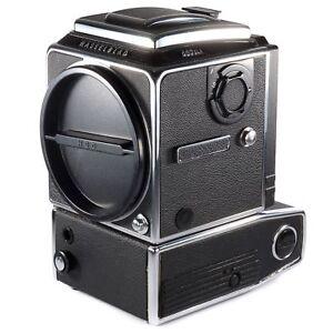 Hasselblad 553ELX Motorized Body Only + WLF 6x6 Medium Format SLR Film Camera