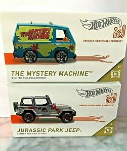 Hot ID RACING Mystery Machine SCOOBY DOO Peace Van and Jurassic Park JEEP rlc !!