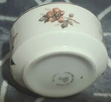 Vintage Lord Nelson Lord Nelson Pottery WHISPER Design 1960's Open Sugar Bowl