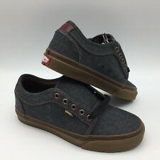 """Vans Men's Shoes """"Chukka Low''--(Oxford)--Black/Gum"""