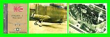 NAKAJIMA Ki84 FRANK I 1943 JAPANESE AIRCRAFT FLIGHT AERONAUTICA - DVD