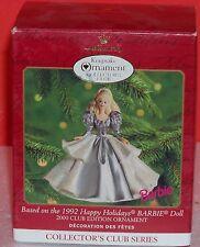 Hallmark Keepsake Ornament, 2000.  Happy Holidays BARBIE Doll