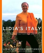 Lidia's Italy : 140 simple and delicious recipes : New Hardcover  @ZB