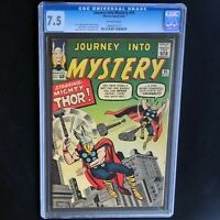 JOURNEY into MYSTERY #95 (1963) 💥 CGC 7.5 💥 Jack Kirby Mighty Thor Cover!