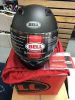 Bell Racing Qualifier Matte Black Adult Full Face Helmet - Variation size (#4)