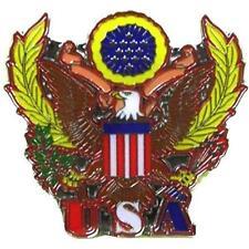USA SEAL HAT OR JACKET PIN pin607 new jacket lapel metal america navy military
