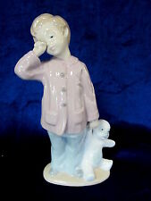 NAO BY LLADRO SLEEPY HEAD BRAND NEW IN BOX #1139 BOY GOING TO BED TEDDY BEAR F/S