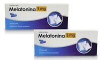 MELATONIN 3MG - 120 CAPSULES ACTIVLAB | Natural Better Sleep Insomnia Help !