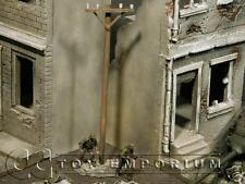 """""""RETIRED"""" Build-a-Rama 1:32 Hand Painted WWII Telephone Pole"""