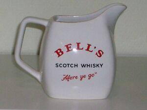 BELL´S 14 cm Single Malt Scotch Whisky Krug Whiskykrug Wasserkrug BELLS K03K3