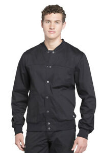 Cherokee Workwear Stretch WW330 Men's Warm-up Jacket Medical Uniforms Scrubs