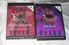 *2 DVD'S*NEW*ART OF EXOTIC DANCING*MUSIC CD & DVD'S*STRIPPING*POLE DANCING*SEXY*