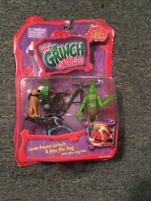 The Grinch Stole Christmas Lederhosen Grinch & Max By Playmates