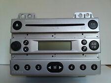 Ford Radio 4500 CD für Ford Fiesta + Ford Fusion # Silber