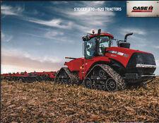 """CASE IH """"Steiger"""" 370-620hp Tractor Brochure Leaflet"""