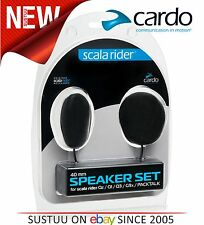 Original Cardo Scala Rider 40mm Audio Speakers Qz Q1 Q3 G9x SmartPack PackTalk