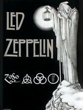 Led Zeppelin Textile Flag Stairway Black