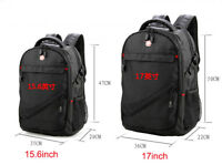 Wenger 15 17 inch Laptop Backpack Men Women School Travel Office Bag Waterproof