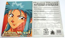 GoO #07-002 TENCHI MUYO! GAME MASTER'S SCREEN & ADVENTURE GM 2001 天地無用! RPG