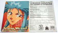 GoO #07-002 TENCHI MUYO! GAME MASTER'S SCREEN & ADVENTURE GM 2001 天地無用! RPG